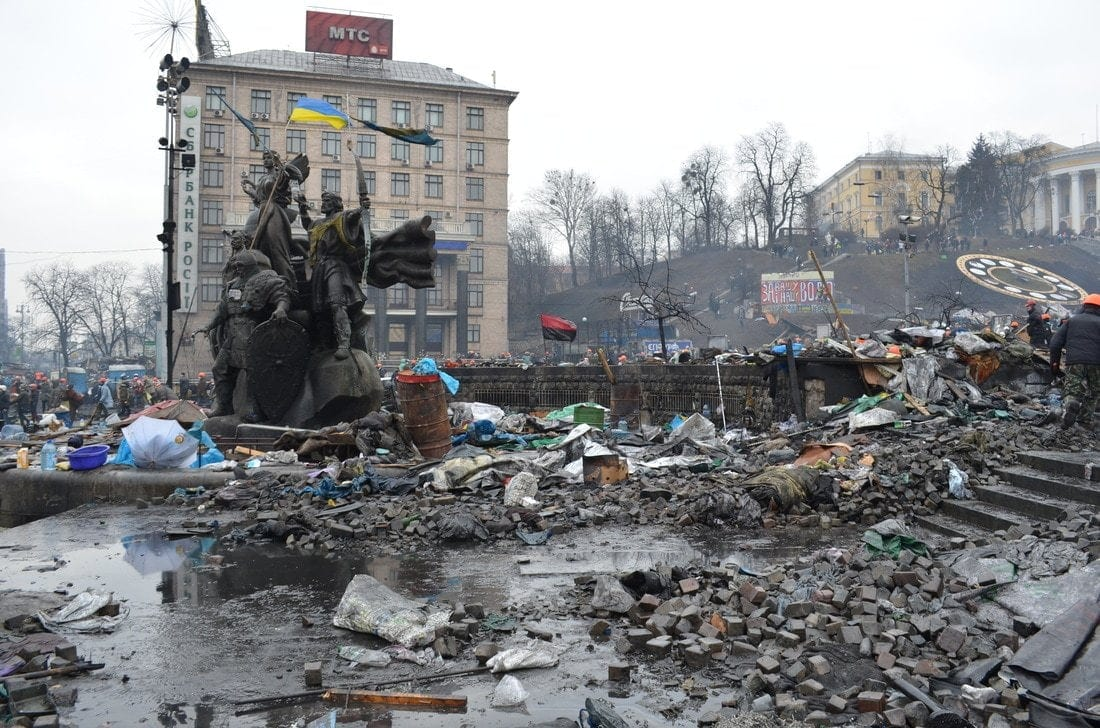 Our reporter from Kiev: tales from the Maidan 12