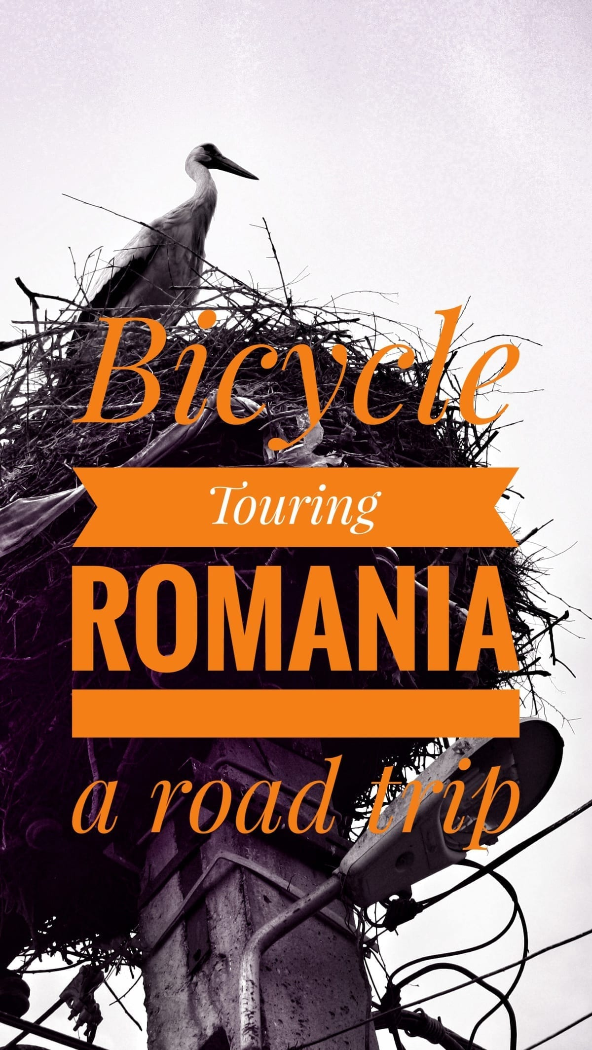 bicycle touring in Romania