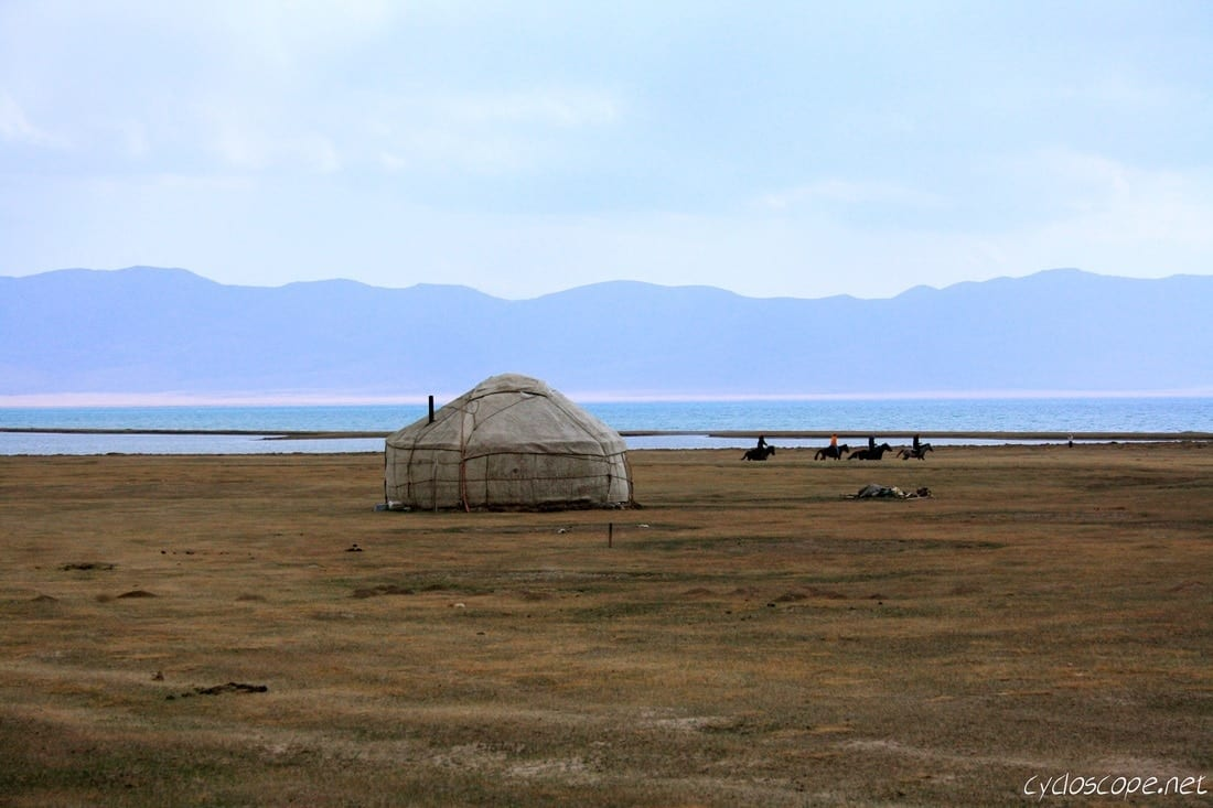 Yurt Song Kul Lake Kyrgyzstan