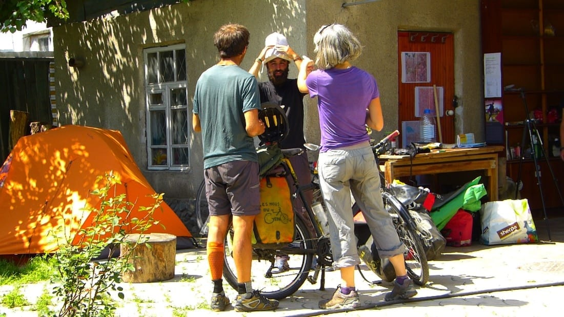 bicycle hostel bishkek