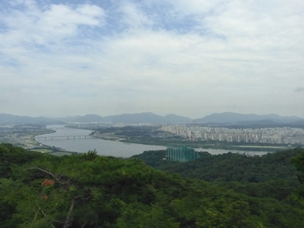best seoul hiking