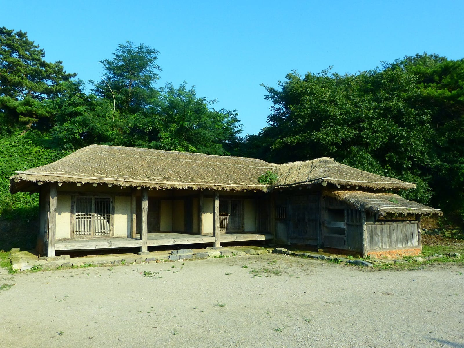 Korea folk house