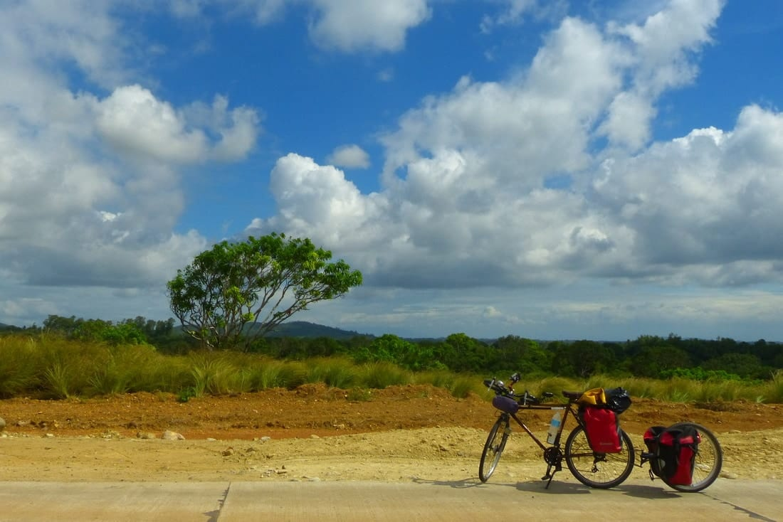 bicycle touring Guimaras - Philippines