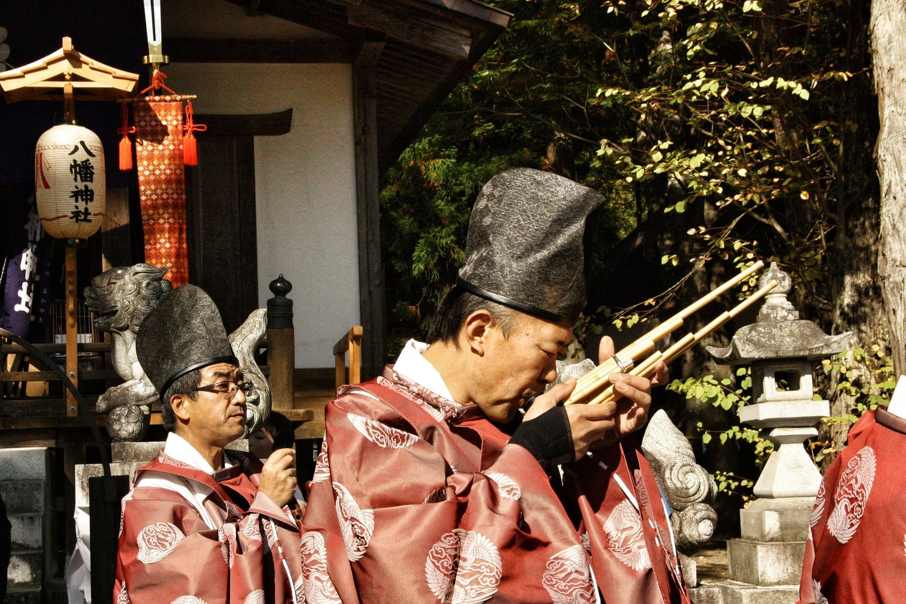Traditional Japanese Music Mouth Organ