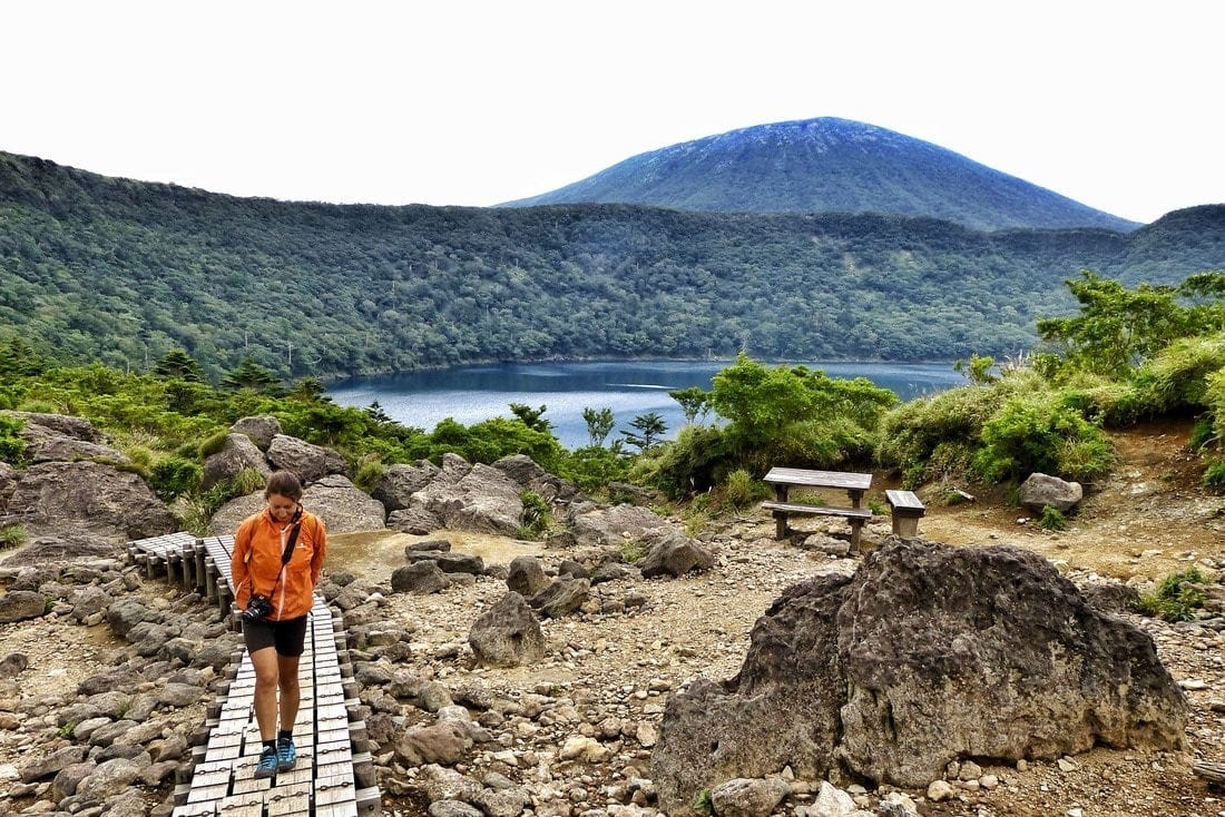 Kirishima Range: Hiking Onami Lake, Mt. Karakuni and Shinmoedake 7