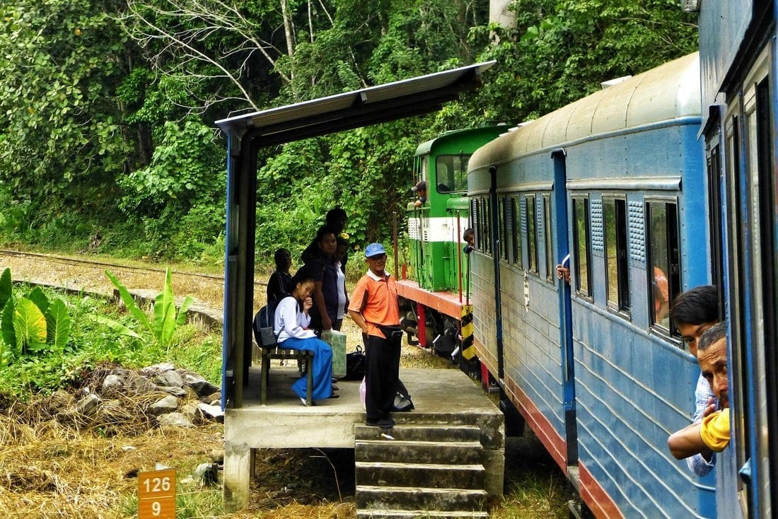 A Train through the jungle of Borneo: from Tenom to Beaufort 9