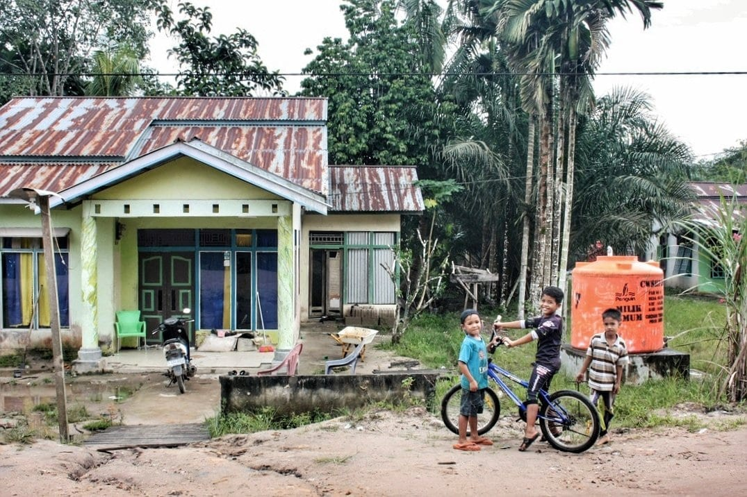 houses of West Kalimantan