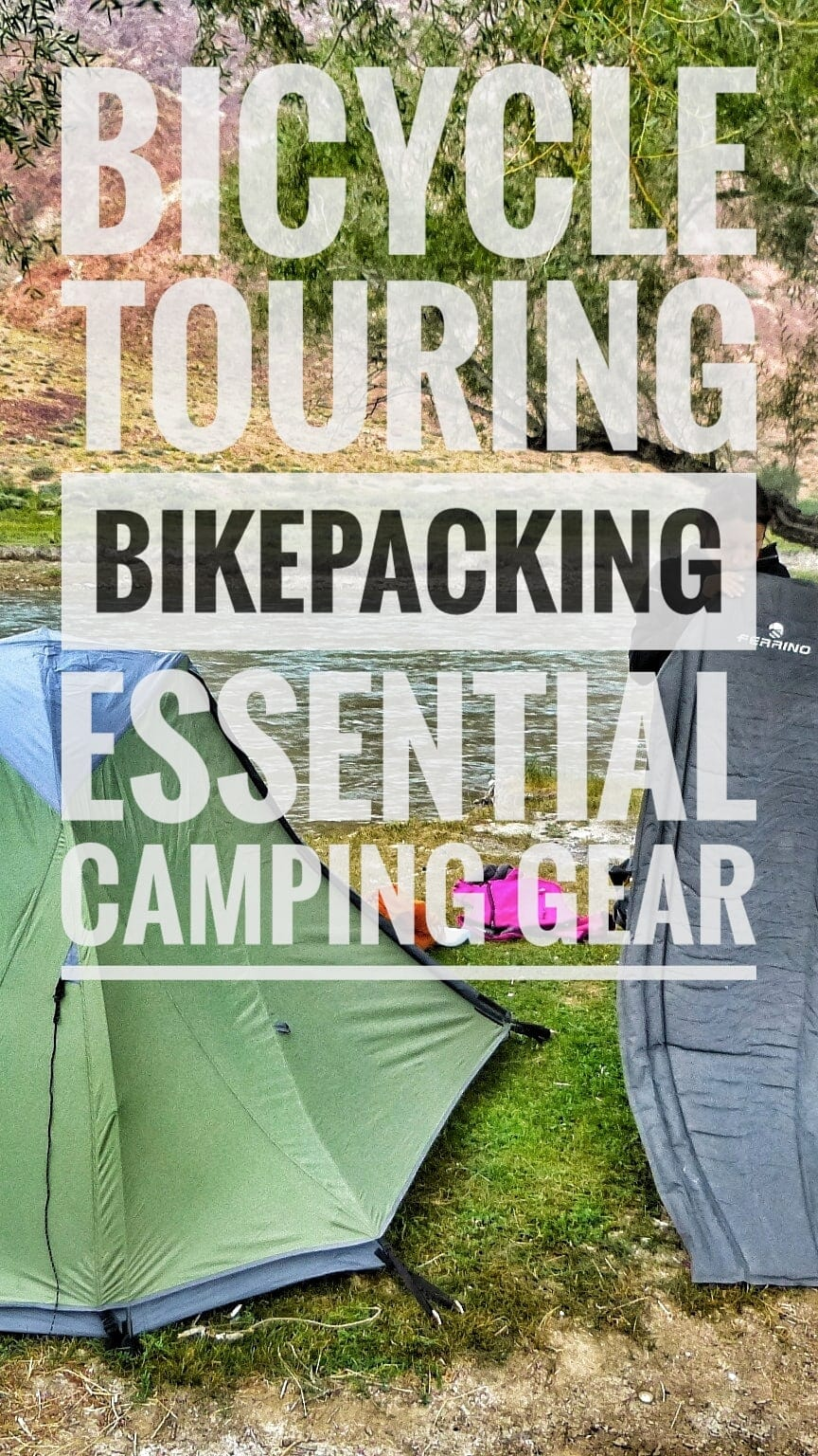 Essential Camping Gear Bicycle Touring Bikepacking