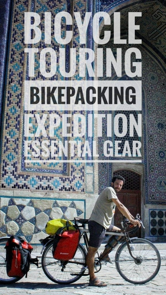 what to bring bicycle touring bikepacking equipment