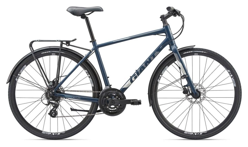 Giant Escape 2019 budget travel bicycle