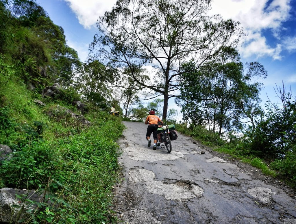 cycle touring in Bali