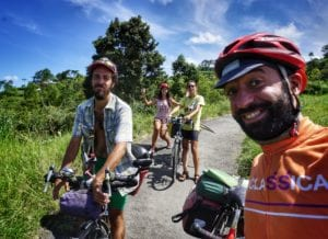 bicycle holidays in bali