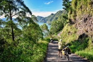 bicycle touring bali