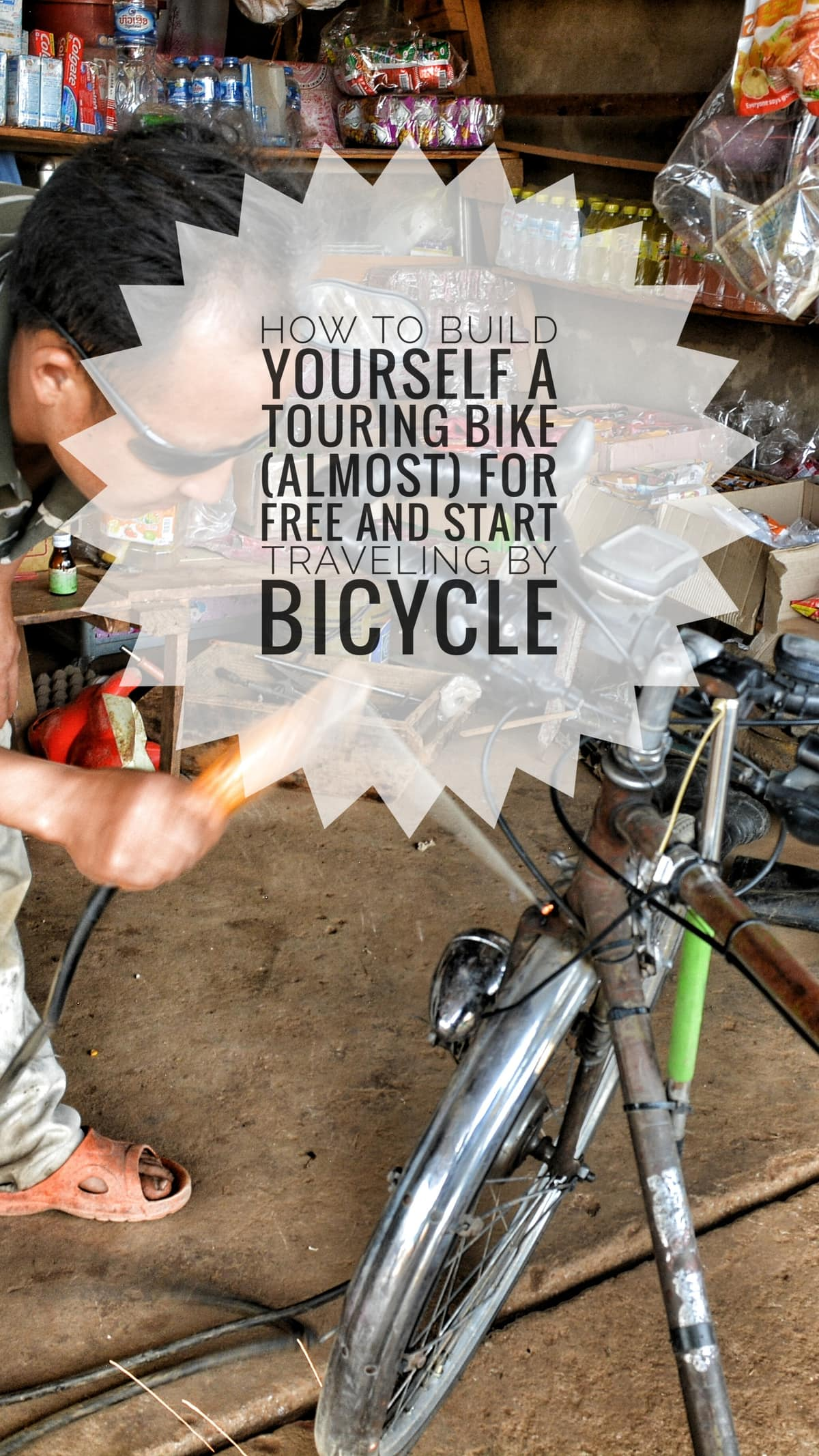 build cheap touring bicycle