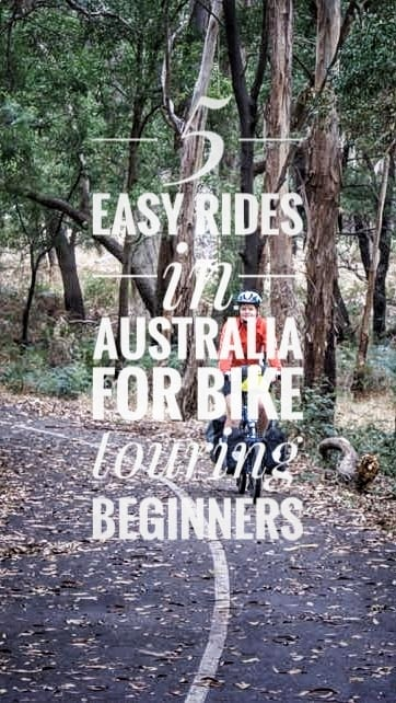 easy rides Australia bike touring beginners