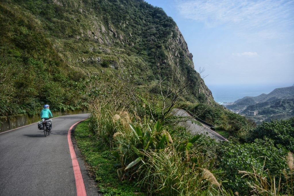 cycle touring Taiwan
