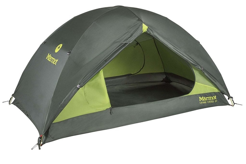 tenda ultralight 2p Marmot Crane Creek