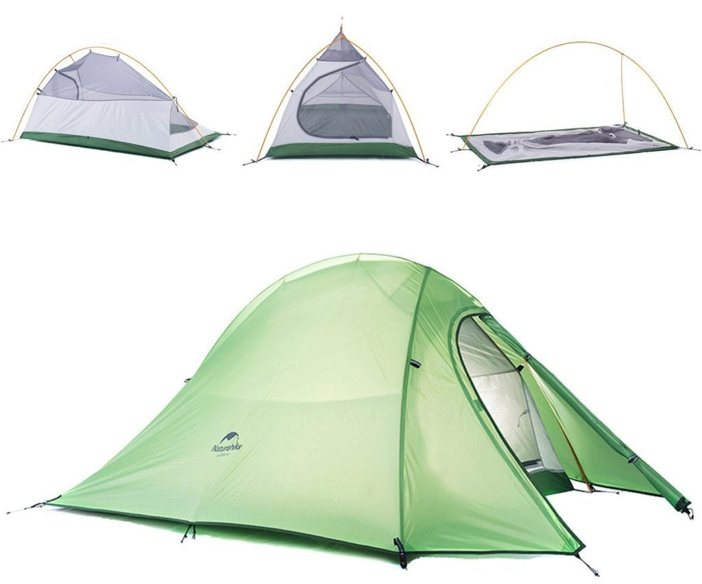 tenda cicloturismo Naturehike Cloud-Up 4 Season