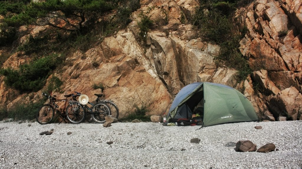 tenda bikepacking