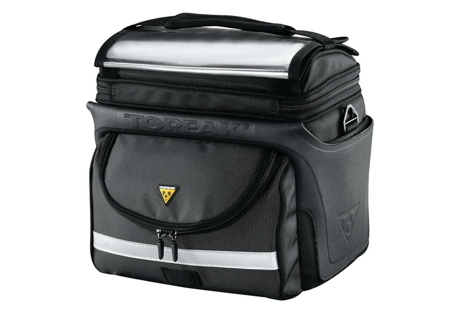 Best Handle Bar Bag for touring Topeak Topeak TourGuide DX with Fixer 8