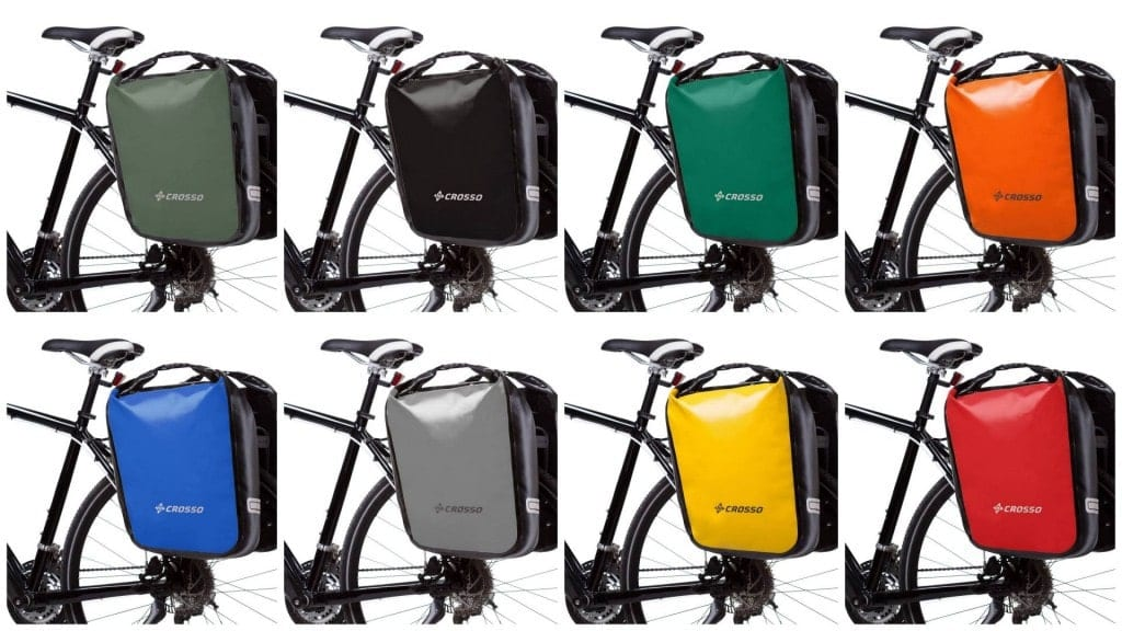 Crosso Dry Bicycle panniers