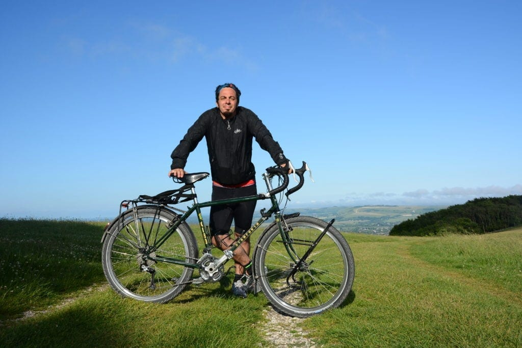 The Thrill of the Trail - Challenging the South Downs Way fully loaded 9