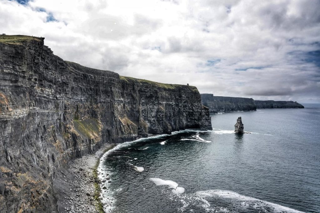 moher in bicicletta