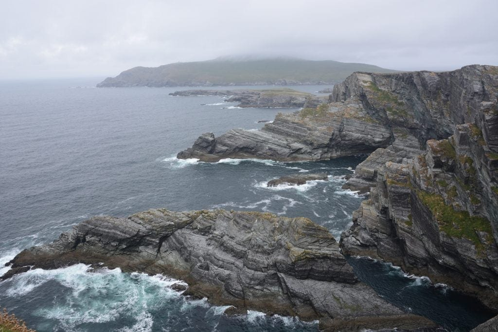 Cliffs of Kerry on a bicycle