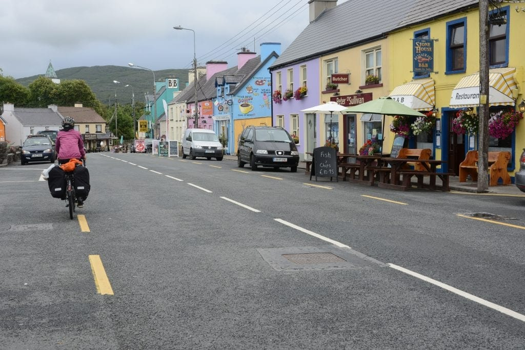 ring of kerry cycling Sneem