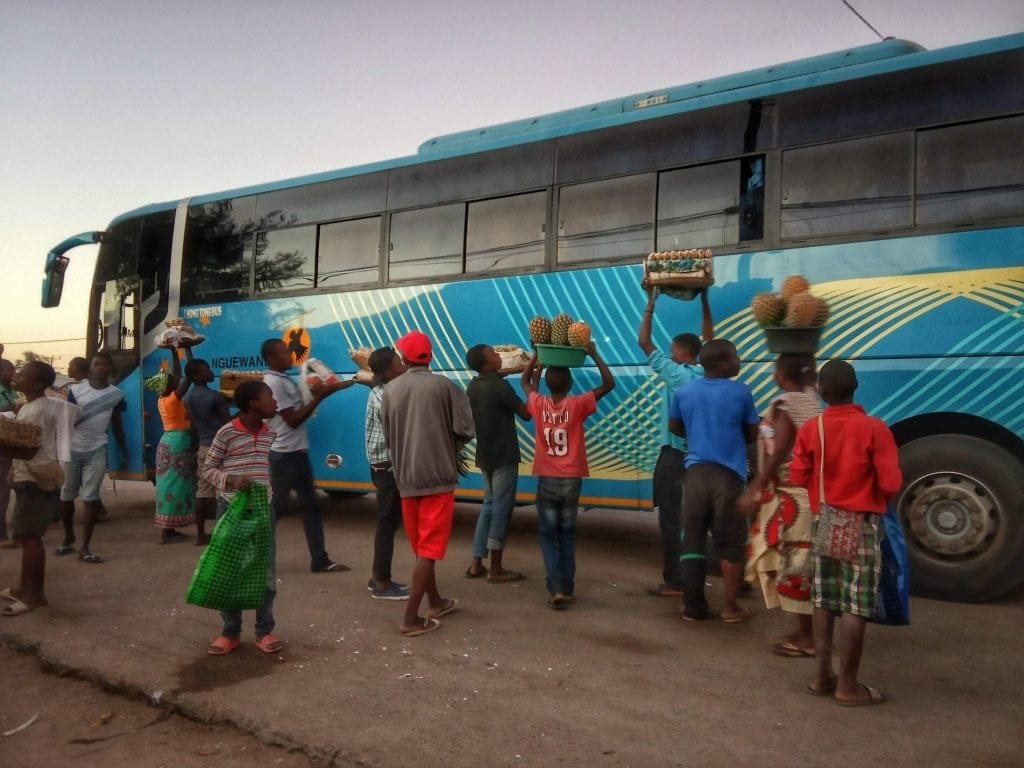 backpacking mozambique transports