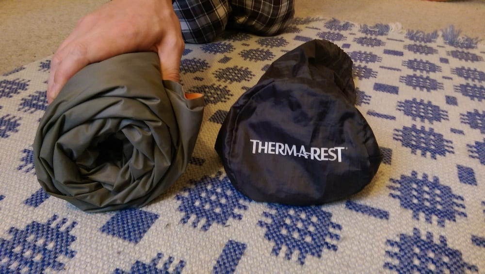 thermarest prolite size