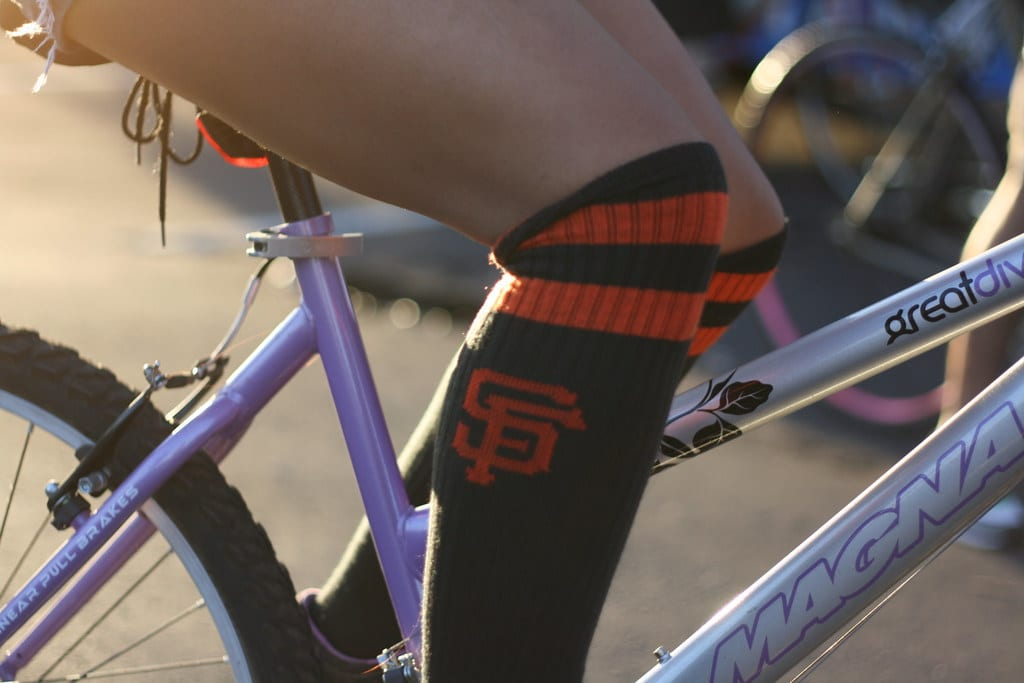 winter cycling socks