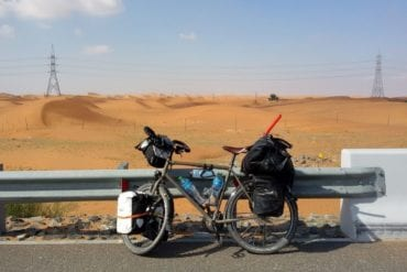 cycling oman