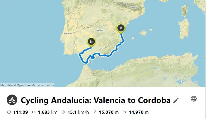 Cycling Andalucia and the Spanish Southern Coast 41